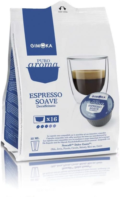 soave-dek-decaffeinato-gimoka-pluscaffe-cagliari-capsule-compatibili-dolcegusto-cialda