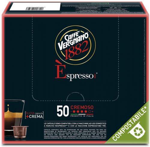 cremoso-nespresso-éspresso-vergnano-50-caffe-pluscaffe-cagliari-capsule-compatibili-cialda