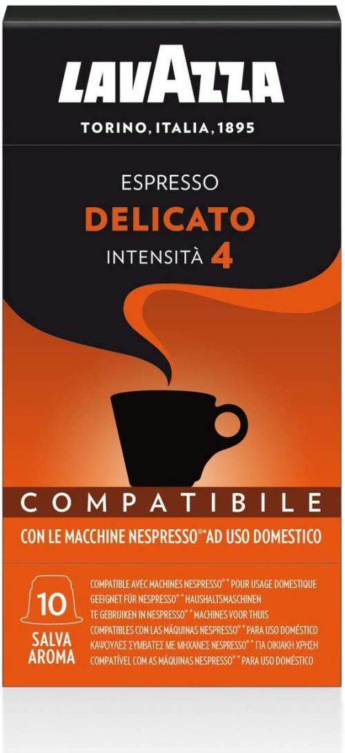 delicato-nespresso-10-lavazza-caffe-pluscaffe-cagliari-capsule-compatibili-cialda