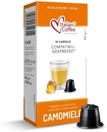 camomilla-miele-arancia-solubile-nespresso-10-italiancoffee-italian-coffee-caffe-pluscaffe-cagliari-capsule-compatibili-cialda